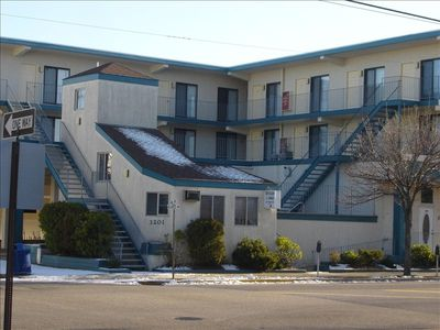 Key Colony Condos. 22 units with own parking spot. Our Unit is on top floor.