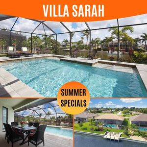 Photo for 38% OFF! -SWFL Rentals - Villa Sarah - Virtually Brand New Pool Home on Freshwater Canal