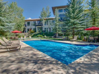 Photo for Riverfront Lodge w/ shared pool & hot tub - near Beaver Creek & Vail Ski Resorts