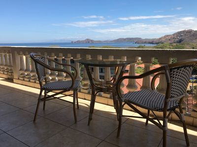 Photo for Amazing ocean view, short walk to beach. Spacious terrace with BBQ & plunge pool