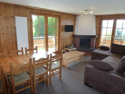 "Photo for 3-Room apartment 3***, for 7 persons maximum at about 200 meters from the ski lift of the ""Piste de"