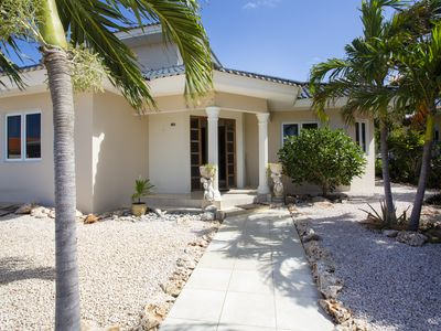 Villa Cle - Curaçao with beautiful tropical garden and private pool