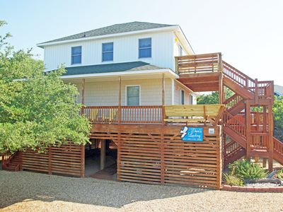 Photo for OCEANSIDE WITH 4 BEDROOMS, HOT TUB, WIFI AND PLENTY OF SUNDECKS!