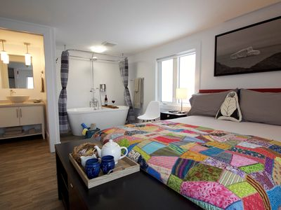 Photo for Twillingate & Beyond - Sunshine Inn - Captain's Quarters (Queen Room with Ocean View)