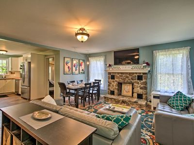 Photo for Niantic Home w/ Patio+Grill - 2 Mi. to Beach!