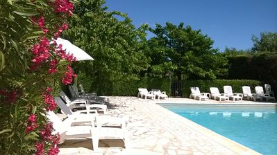 Photo for Provencal farmhouse for St Remy Pce-Charming duplex-Pool-Air conditioning