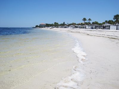 Gulf Harbors Beach Club membership included with rental.