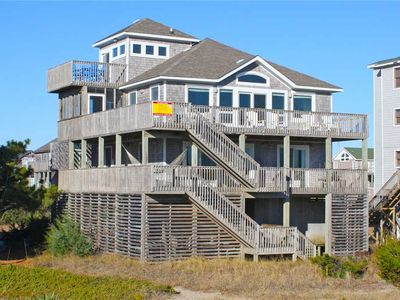 Photo for Enchanting Ocean & Sound Views! Oceanfront in Waves w/ Hot Tub, Steps to Beach!
