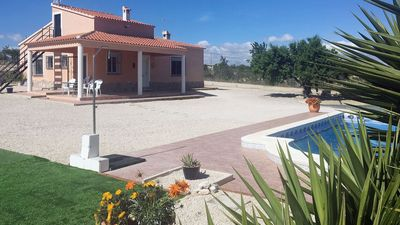 Photo for Beautiful villa in scenic mountain setting with private pool and stunning views
