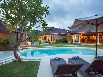 Photo for 5 BR villa with 2 pools seminyak,Bali