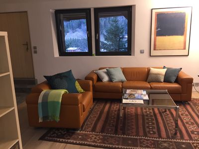 Photo for Charming studio for 2 in Le Lavancher village between Chamonix and Argentiere