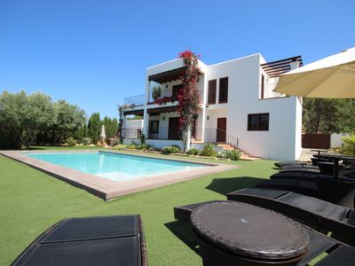 Photo for Modern Villa With Private Pool, Close To Cala Gracio & San Antonio