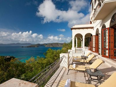 Photo for Private Luxury 5 bedroom villa with Pool in Upper Peter Bay!  Awesome Ocean Views.