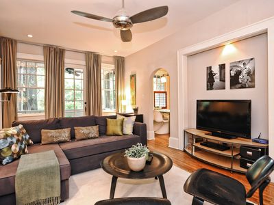 Photo for Gracious and Quiet Myers Park 2BR Residence-1 Mile from Uptown