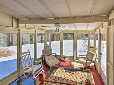 Photo for NEW-Rural Maine Home on 3 Acres w/White Mtns Views