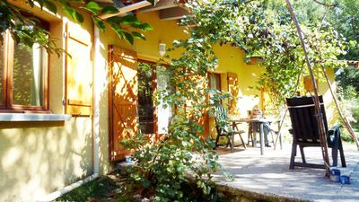 Photo for Romantic cottage in the Ardeche with free WiFi and TV