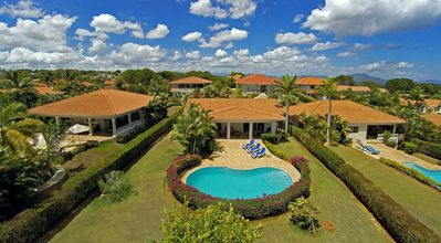 Photo for Kids-friendly gated residence with playground/tennis/basket/soccer, private pool