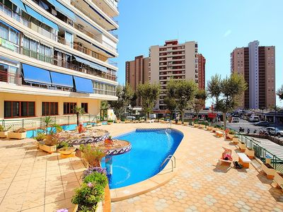 "Photo for Apartment a short walk away (176 m) from the ""Playa de Levante"" in Benidorm with Lift, Parking, Internet, Washing machine (263193)"