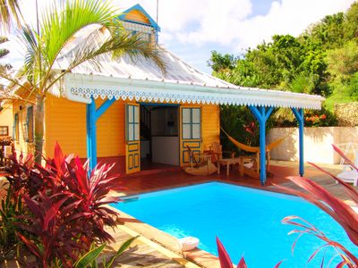 Photo for VILLA CREOLE ALL COMFORT PRIVATE SWIMMING POOL BEACH
