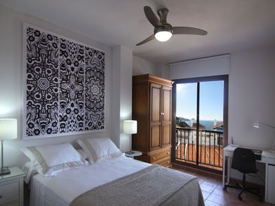 Photo for Duplex with design and charm. Ocean view with WIFI y AC.IN THE NATURAL PARK