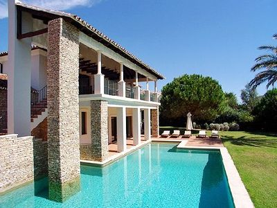Photo for Luxury 5 bed villa with Pool, Table Tennis, Playground W121