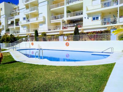 Photo for Bright Spacious 200m2 3BR 2BA w Balconies, Year Round Pool