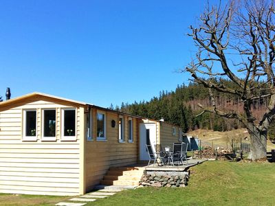 Photo for Holiday home in the Thuringian Forest with terrace, garden and a beautiful view