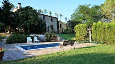 Photo for 5BR Farmhouse Vacation Rental in Massanes, Girona (Provinz)