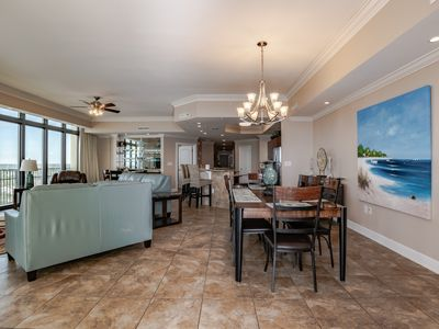 Photo for Beachfront Professional Decor Aug 3-10 $3143 -Lazy River-Waterslide  4 Bedroom