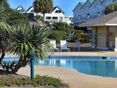Photo for NEW! Family friendly waterfront condo w/shared pools, hot tub & beach access
