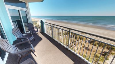 Photo for Amazing 4 Bedroom 5th Floor Unit with 180 Degree Sweeping Ocean Views!