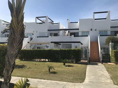 Photo for Lovely 3 Bedroom, Ground Floor Apartment on Jardin 11, Condado de Alhama Resort