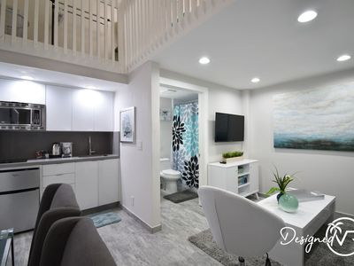 Photo for BOUTIQUE BEACH LOFT STEPS FROM THE OCEAN UNIT # 2