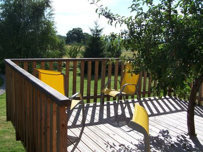 Photo for Maisonette in our propriéte with panoramic views of the Auvergne