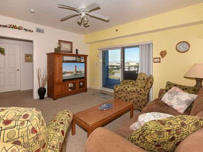 Photo for Beautiful 2 bedroom 2 bath condo  is desirable building 2 at Oceanwalk. Ow2-402