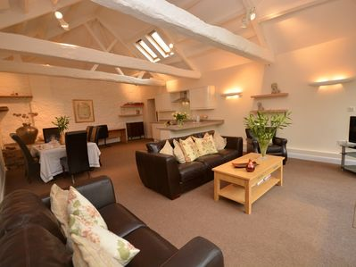 Large open plan living with space for all the family