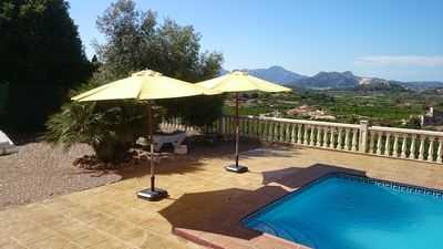 Photo for Family friendly villa with private pool and parking. Peaceful with great views!
