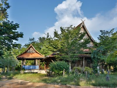 Photo for Traditional wooden Thai House with garden - Ban Namsai