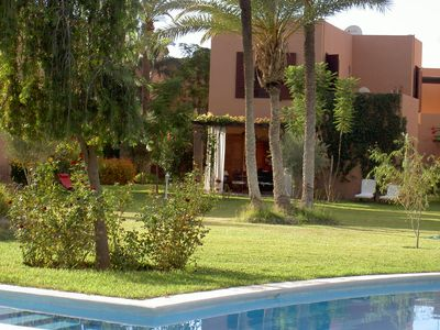 Photo for VILLA- MARRAKECH PALMARAIE,with swimming pool and tennis court
