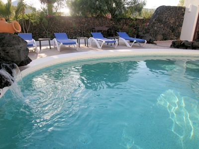 Photo for Enchanting, Detached 3 Bed Luxury Villa, close to Sea, Sandy Coves, Old Town