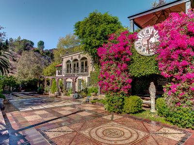 Photo for Houdini Estate - Historical 5-Acre Private Estate in Hollywood Hills