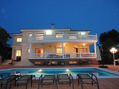 Photo for Villa With Private Pool Sea And Mountain Views Near Golf Course And Beaches