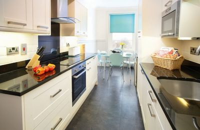 Beautifully appointed, modern and fully equipped kitchen