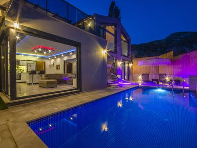 Photo for Villa for 2  with Totally Private Pool, Heated Indoor Pool, Sauna & Turkish Bath