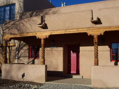 Photo for Puerta Colorada (Red Door): Taos Condo Just Blocks from Plaza