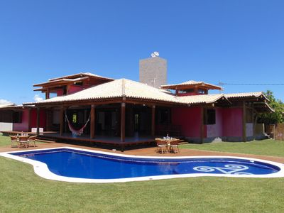 Photo for Luxury Home 4 suites, Jacuzzi, pool 100m from the Jacuipe River