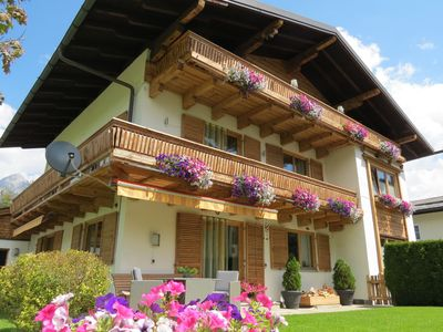 Photo for Apartment with 2 bedrooms at the edge of charming Maria Alm.