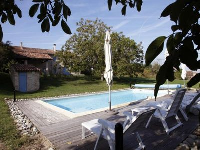 Photo for Gite Cuq-Toulza, 5 bedrooms, 10 persons