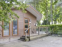 A great situation and a sweet lodge, all on one level after you get up three steps to enter.