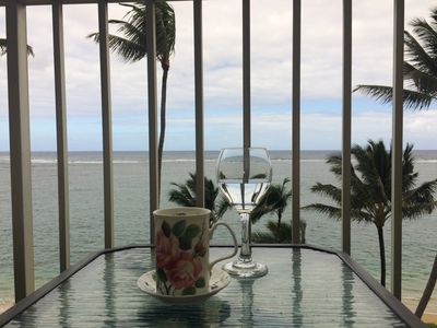 Photo for New listing/remodel, 7th floor beach/ocean view condo, with AC in bedroom